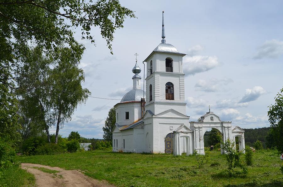 Храм Казанской Божией матери.