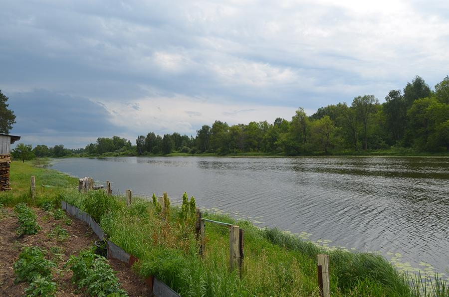 Троицкое озеро.