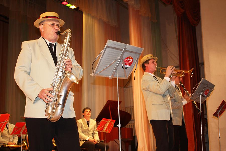 Муниципальный оркестр духовых инструментов.