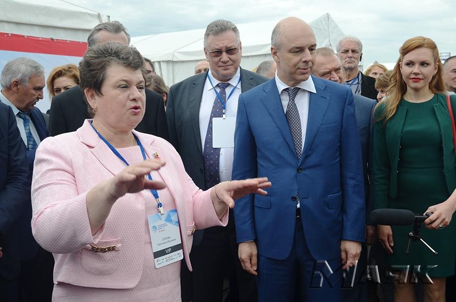 Губернатор Владимирской области С.Ю. Орлова.